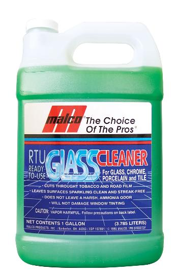 Malco Glass Cleaner (RTU) 1 Gallon