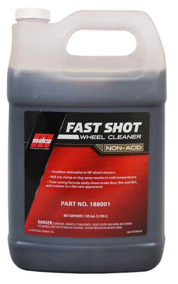 Malco Fast Shot (non acid) Wheel Cleaner 1 Gallon (US)