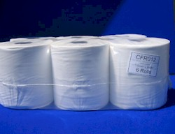 Paper Roll White Premium 2Ply 6 Pack