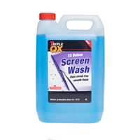 Triple QX Concentrated Screenwash 5 Litre -15c