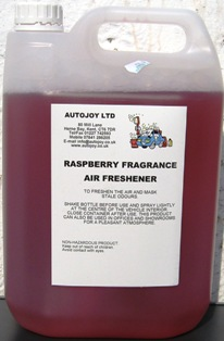 Autojoy Car Freshener Raspberry 5 Litre