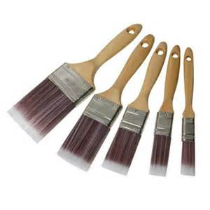 Synthetic Brush set 5 Piece