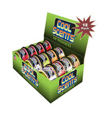 California Cool Scents Can (12 pack)