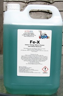 Autojoy Fe-X Wheel Cleaner 5 Litre (with bleed)
