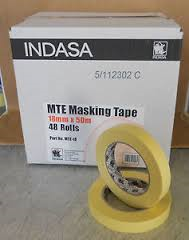 Indasa Yellow 25mm Masking Tape