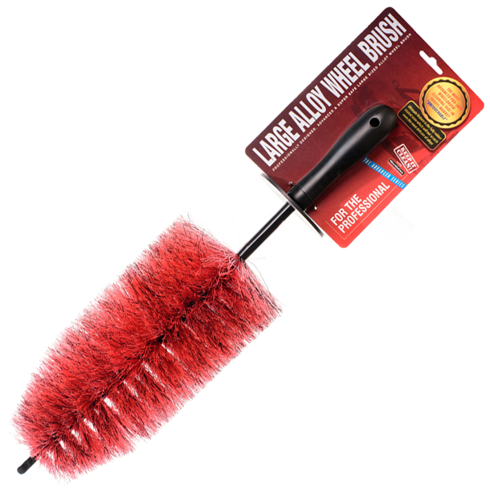 Large Extra Reach Red Wheel Brush
