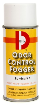 Odor Fogger 5 oz can (Sunburst)