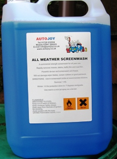 Autojoy 4 Seasons Concentrated Screenwash 5 Litre