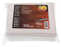 Terry Toweling 100% Cotton Cloth (10 pack)
