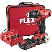 FLEX DD 2G 10.8-LD Drill Driver Kit 2 x 10-8 V Batteries