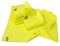 Microfibre Super Plush Cloth Giant 70cm x 50cm Giant Yellow