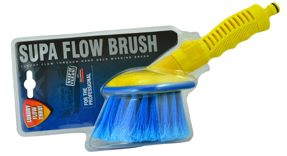 Super Flow Brush – *On/Off Water Tap*