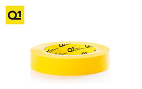 Q1 Yellow Premium Masking Tape 24mm