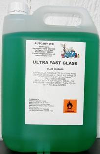 Autojoy Ultra Fast Glass Cleaner 5 Litre