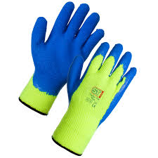 Textured Latex Dipped Thermal Gloves Large